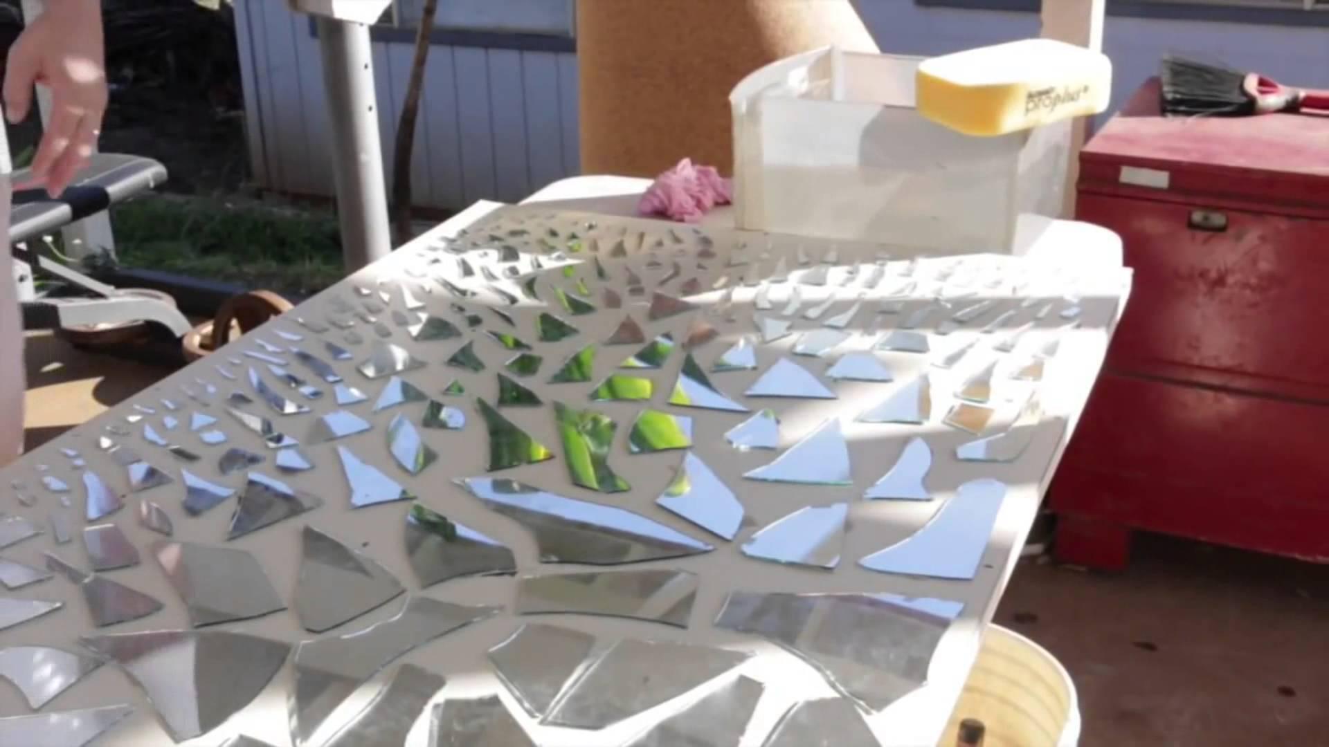 Diy Mirror Mosaic Wall Art – Youtube Throughout Diy Mosaic Wall Art (View 5 of 20)
