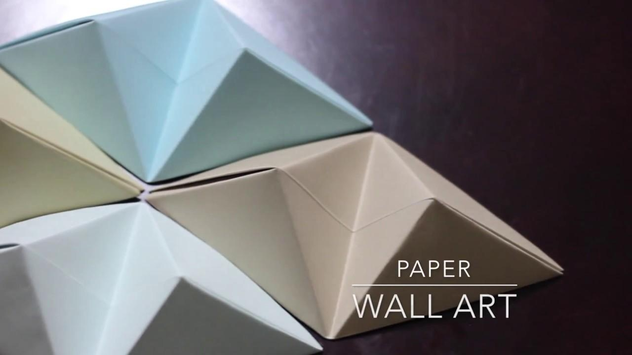 Featured Photo of Diy Origami Wall Art