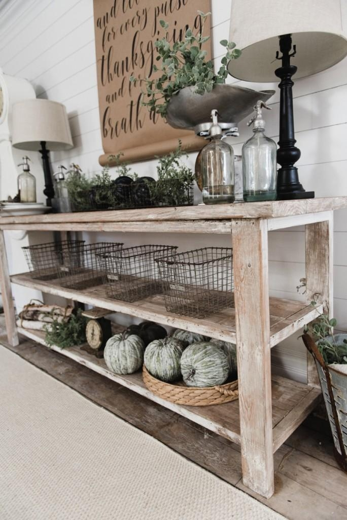 Diy Rustic Tv Stand Inside Most Recent Rustic Tv Stands (Image 7 of 20)