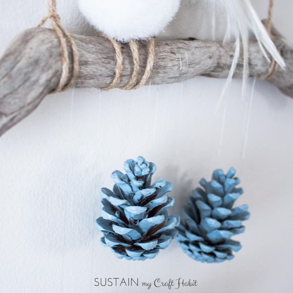 Diy Wall Art: Rustic Pinecone Wall Hanging – Sustain My Craft Habit For Pine Cone Wall Art (View 16 of 20)