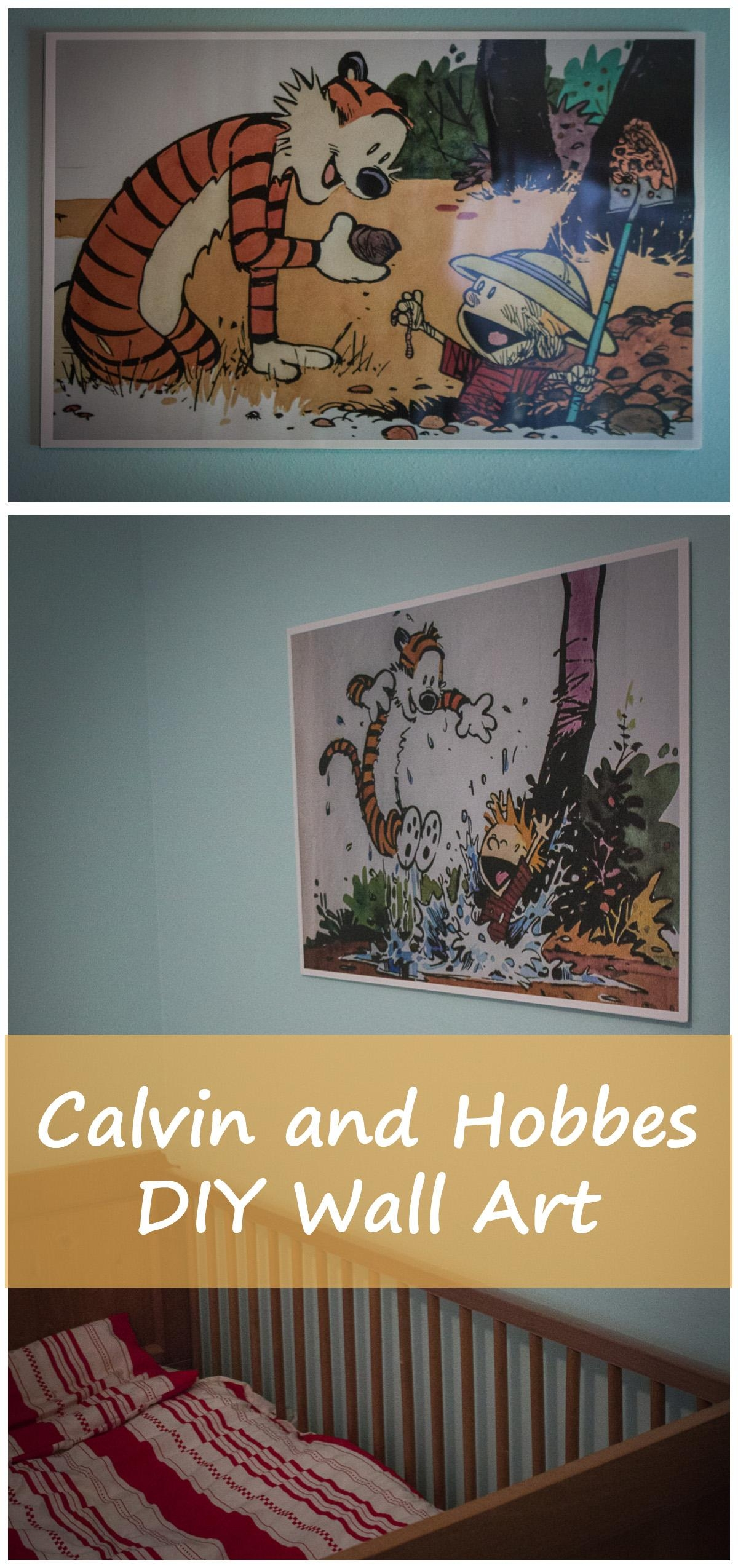 Featured Photo of Calvin And Hobbes Wall Art