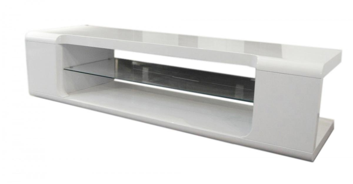 Dockland Prestige Residential » Parker High Gloss Tv Unit With Regard To Most Up To Date White Gloss Tv Cabinets (Image 5 of 20)