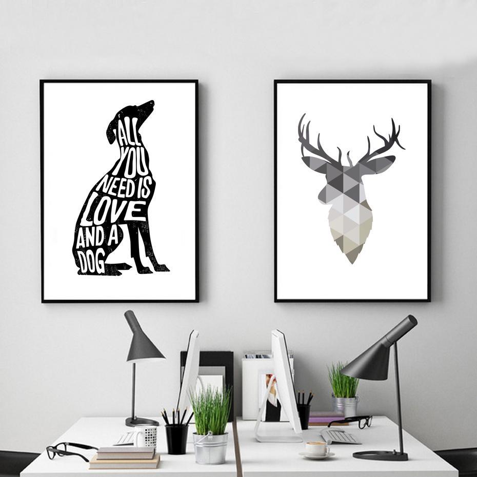 Dog Minimalist Poster Italian Greyhound Nordic Wall Art Print In Italian Greyhound Wall Art (Image 9 of 20)