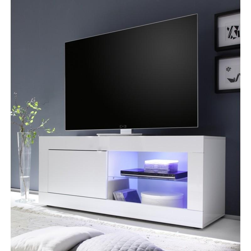 Dolcevita Gloss Tv Stand – Tv Stands – Sena Home Furniture Regarding Most Recent Tv Unit 100Cm (View 12 of 20)