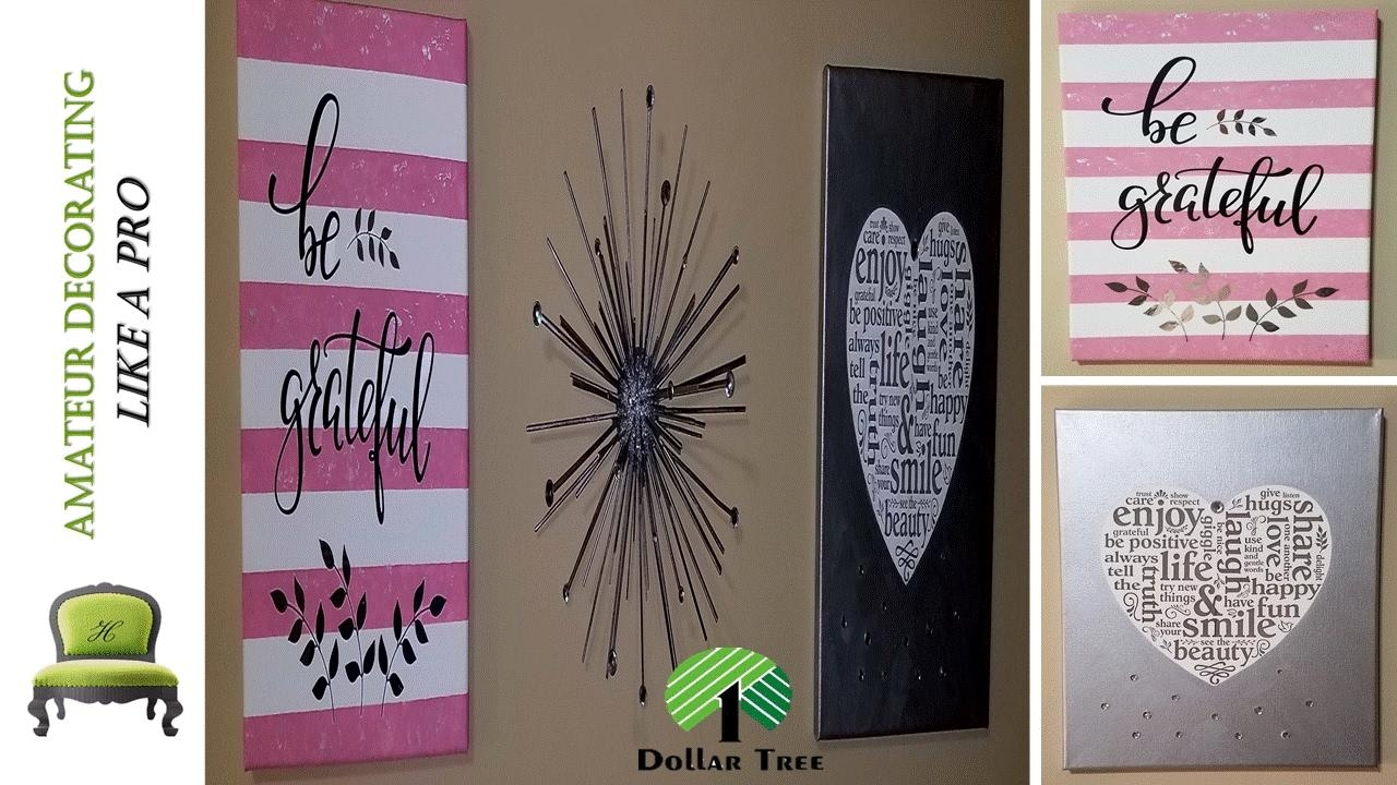 "Dollar Tree $1 Peel & Stick Stickers Wall Art ""kid Friendly Diy For Street Wall Art Decals (View 18 of 20)"