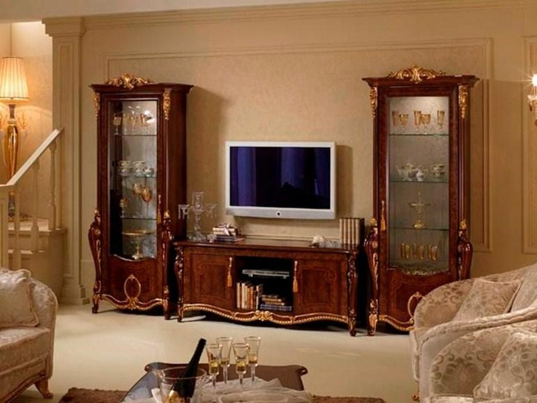 Donatello | Tv Cabinetarredoclassic Pertaining To Most Current Classic Tv Cabinets (View 19 of 20)