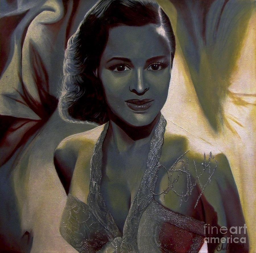 Dorothy Dandridge Paintingchelle Brantley Intended For Dorothy Dandridge Wall Art (View 6 of 20)