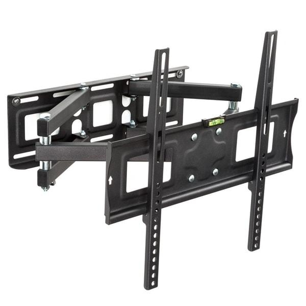 Double Arm Cantilever Tv Bracket – 32″ 55″ Tvs Installed | Tv Wall Intended For Most Up To Date Cantilever Tv (Image 7 of 20)