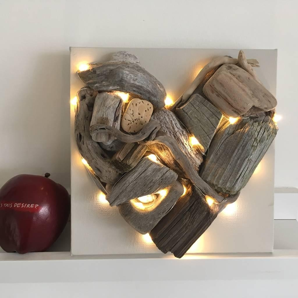 Driftwood Heart | Notonthehighstreet Intended For Driftwood Heart Wall Art (View 18 of 20)
