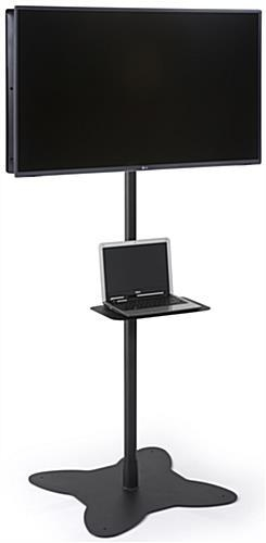 Dual Pole Tv Stand | Multiple Configuration Options Throughout Latest Dual Tv Stands (Image 5 of 20)
