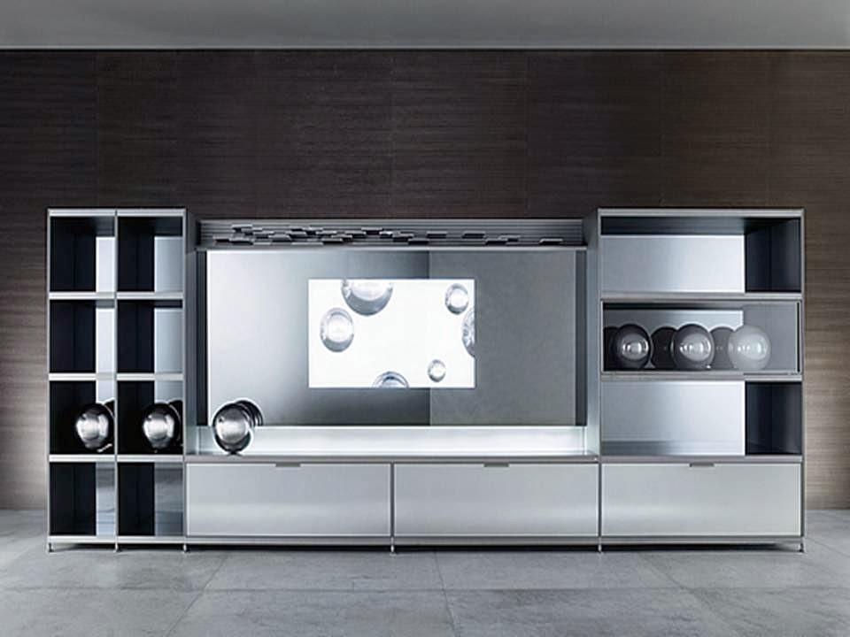 Dwell Of Decor: 10 Black And White Tv Cabinet Unit Ideas Regarding Latest Tv Units Black (Image 10 of 20)