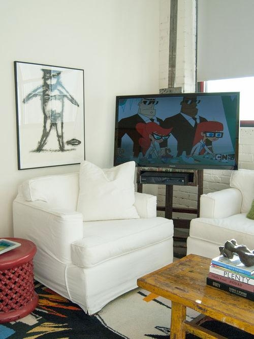 Easel Tv Stand | Houzz Inside Best And Newest Easel Tv Stands For Flat Screens (Image 7 of 20)
