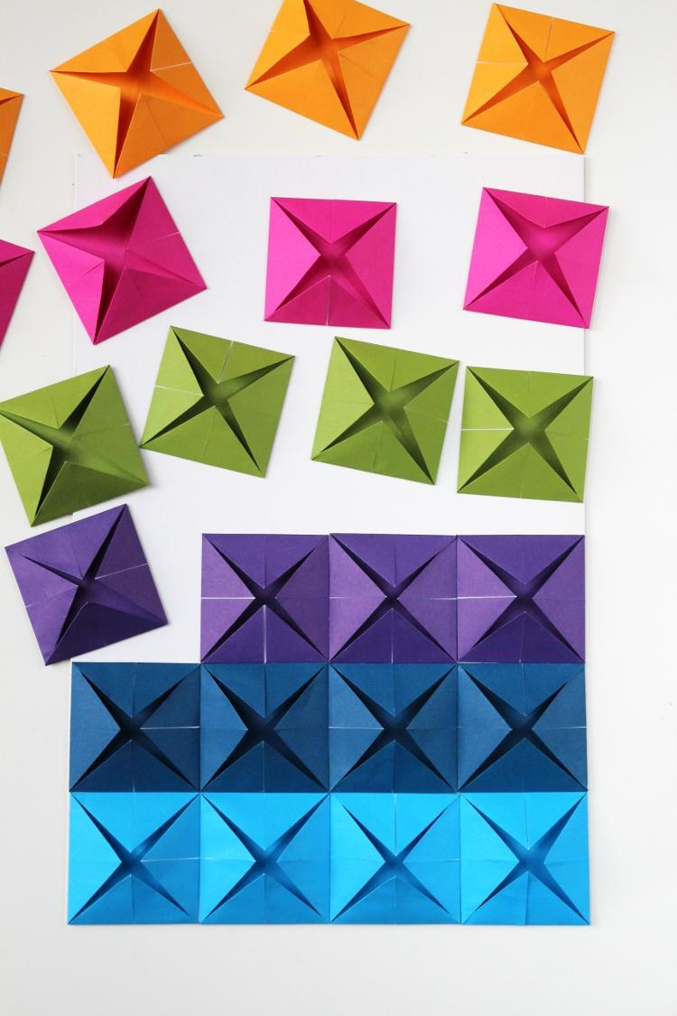 Easy Origami Wall Art (Image 9 of 20)