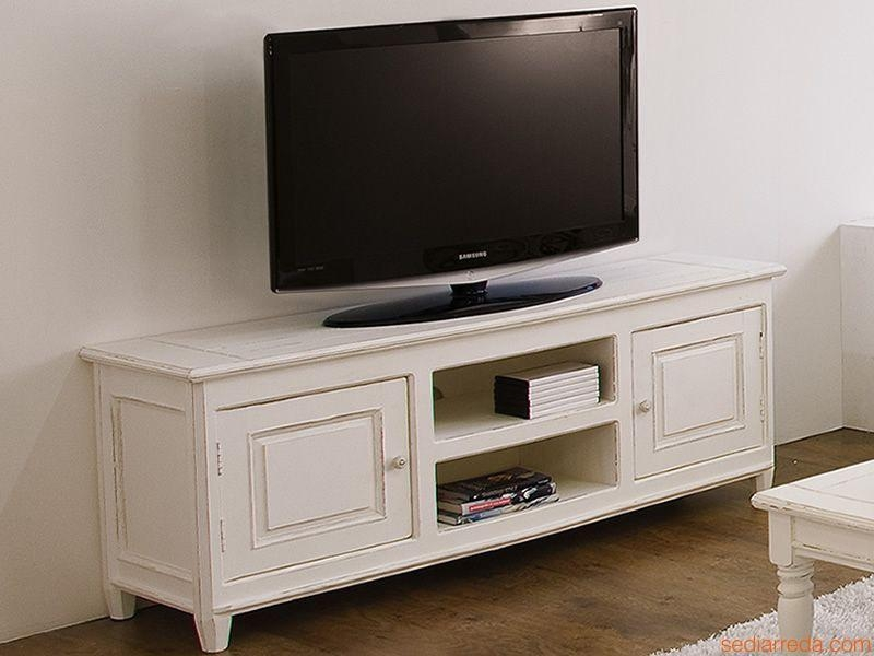 Egadi: Tv Stand In Wood, 145X45 Cm, Height 60 Cm – Sediarreda Throughout Latest 60 Cm High Tv Stand (Image 9 of 20)