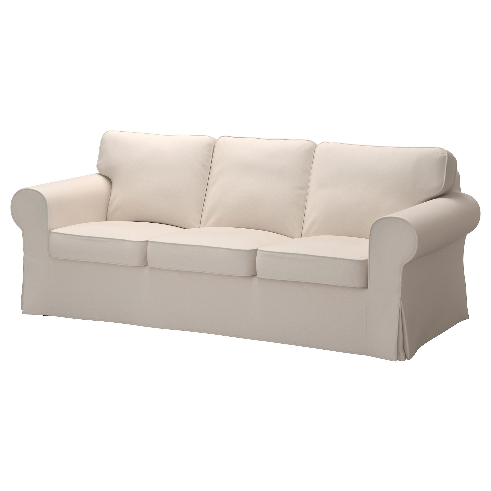 Ektorp Sofa – Lofallet Beige – Ikea Pertaining To White Fabric Sofas (Image 4 of 20)