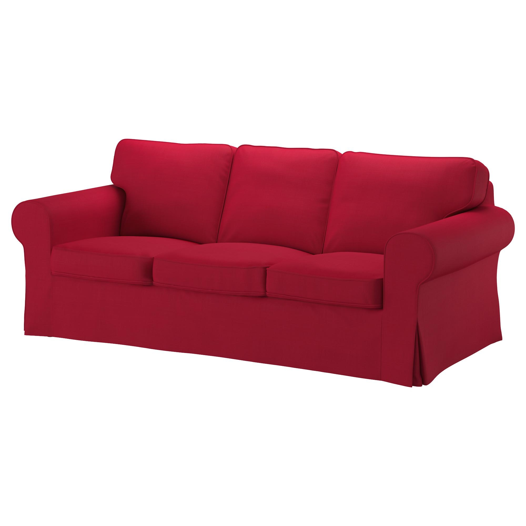 Ektorp Sofa – Nordvalla Dark Gray – Ikea Intended For Red Sofa Beds Ikea (Image 5 of 20)