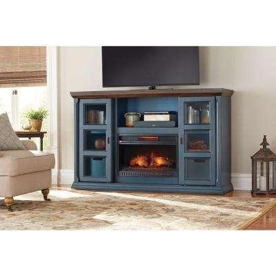Electric Fireplaces – Fireplaces – The Home Depot For Most Recently Released Compact Corner Tv Stands (View 19 of 20)