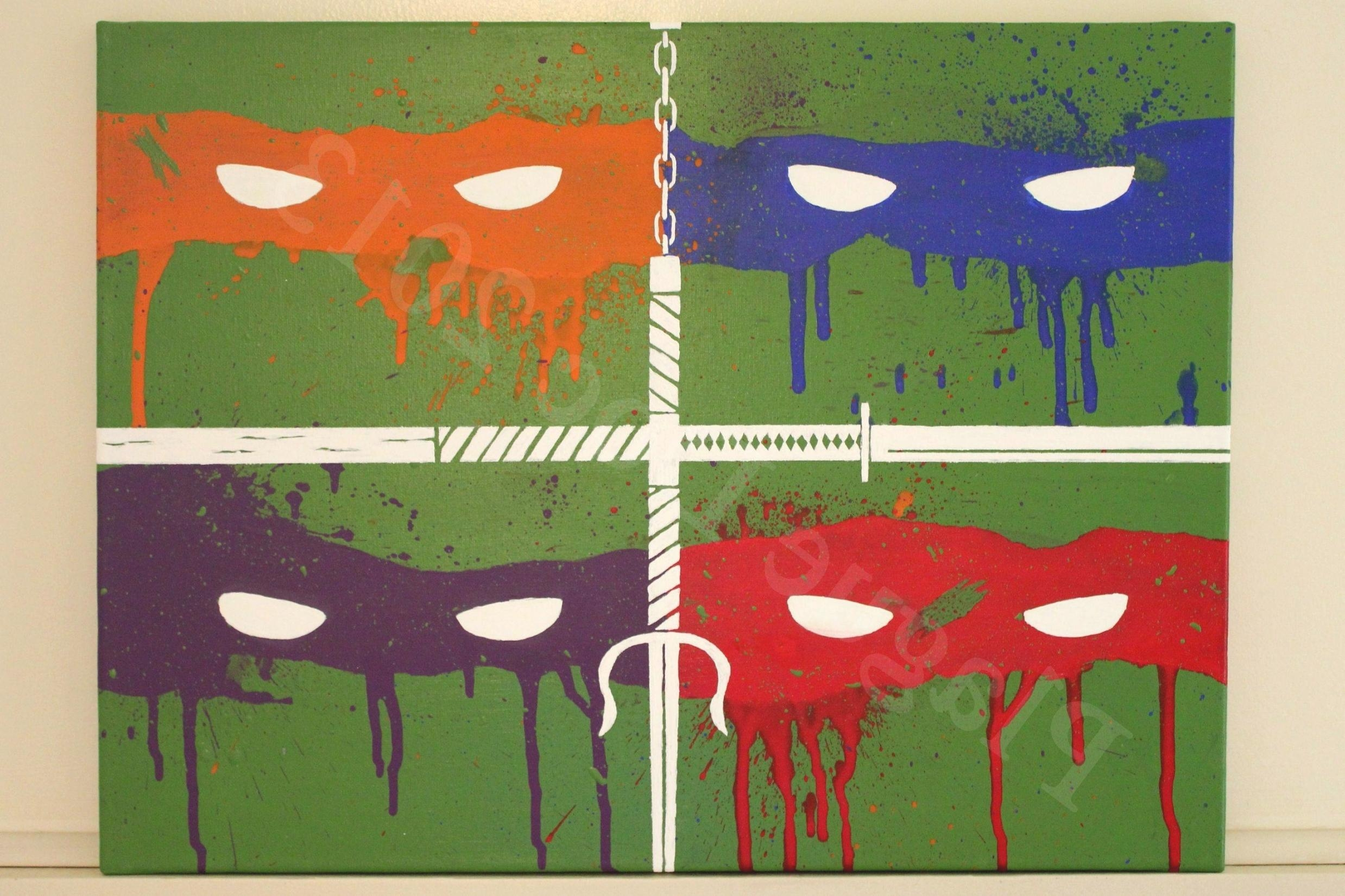Elegant Tmnt Wall Art 71 For Eric Carle Wall Art With Tmnt Wall Regarding Eric Carle Wall Art (Image 6 of 20)
