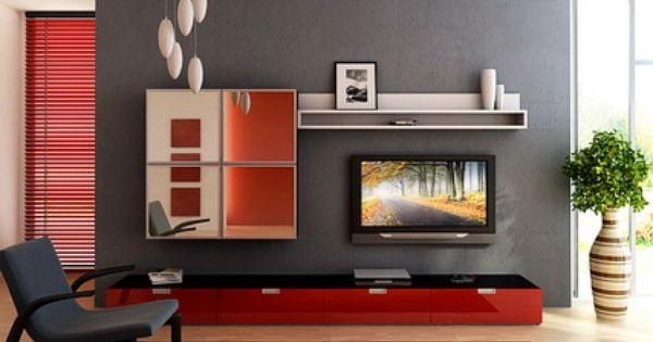 Elegant Tv Stand Furniture In Small Modern Living Room Interior Inside Most Up To Date Tv Stands For Small Rooms (Image 11 of 20)