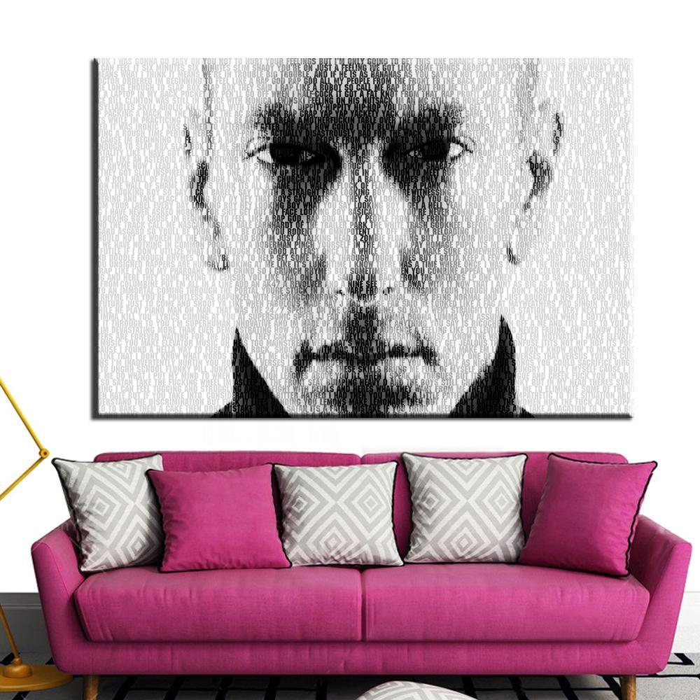 Eminem Wall Art Promotion Shop For Promotional Eminem Wall Art On For Eminem Wall Art (View 8 of 20)