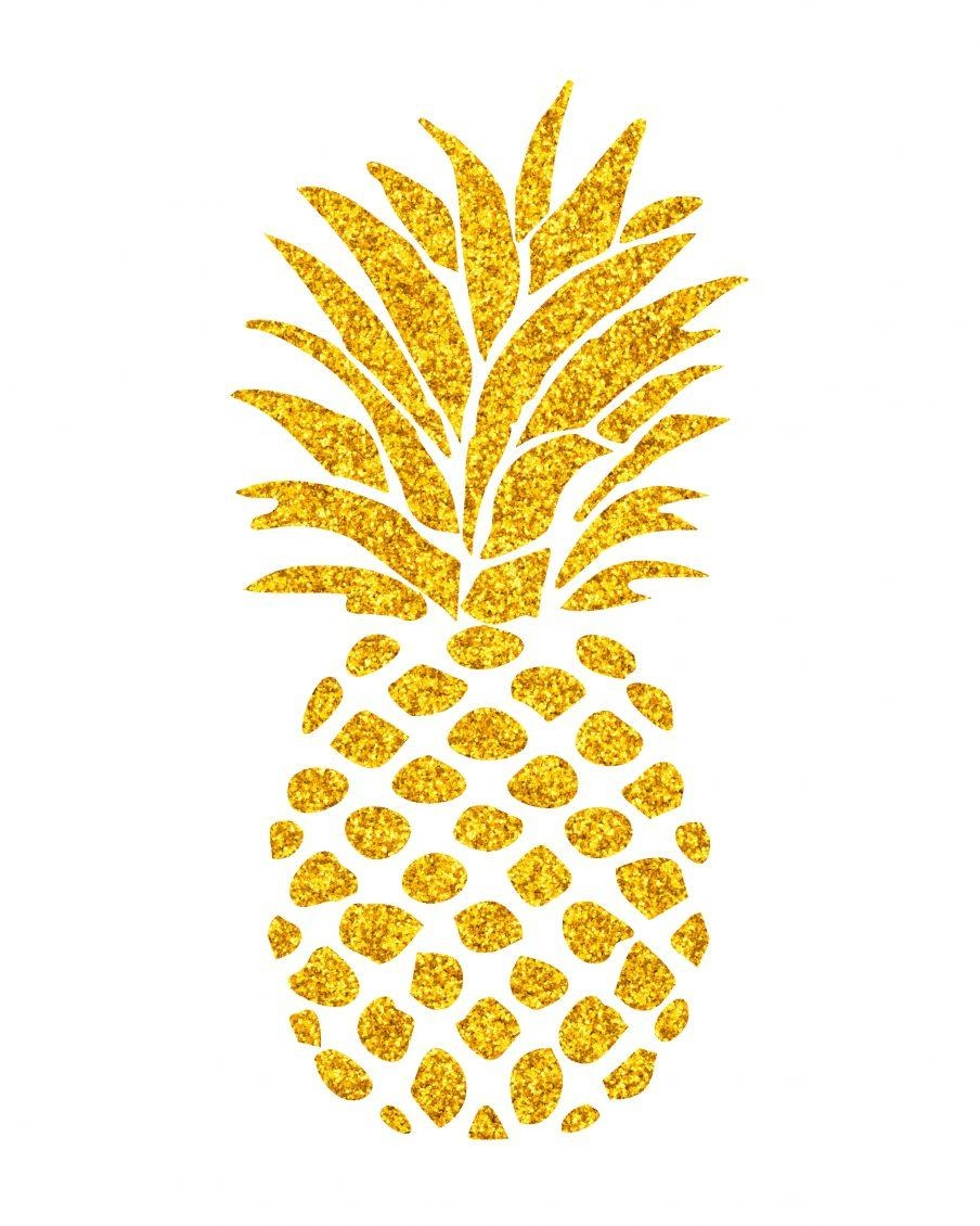 20 Top Pineapple Metal Wall Art | Wall Art Ideas