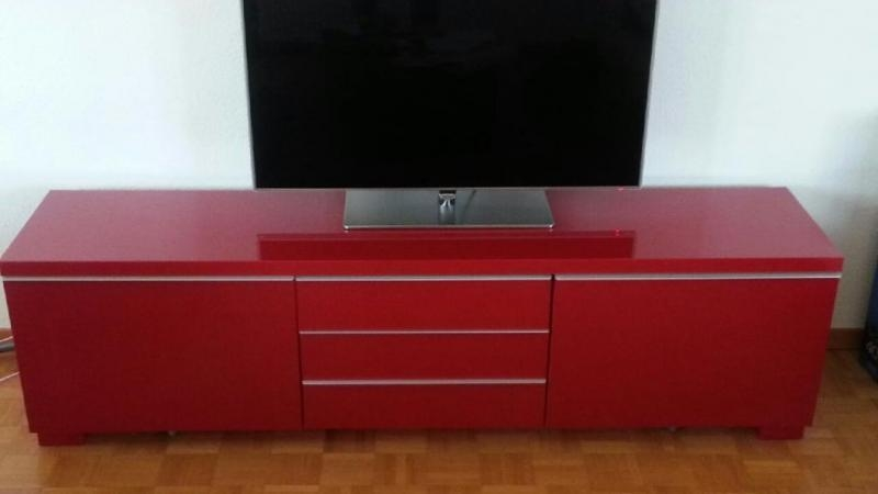 English Forum Switzerland – View Single Post – Ikea Tv Stand Inside Best And Newest Red Tv Cabinets (View 13 of 20)