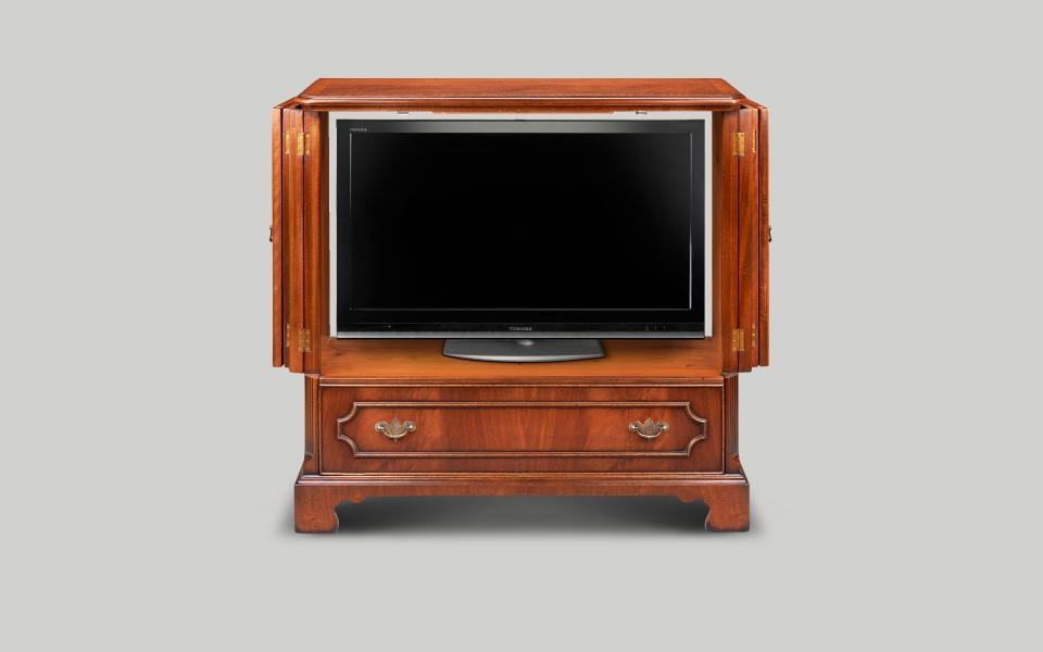 English Reproduction Tv Cabinets | Iain James Furniture With Regard To Most Recently Released Mahogany Tv Cabinets (Image 12 of 20)