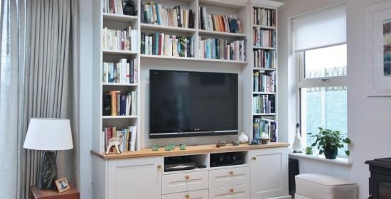 Enigma Design » Tv And Alcove Units In Most Popular Bespoke Tv Cabinets (Image 9 of 20)