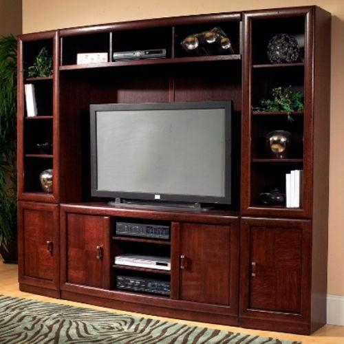 Entertain Yourself With The Cherry Wood Entertainment Center From Regarding Most Current Cherry Wood Tv Stands (View 10 of 20)