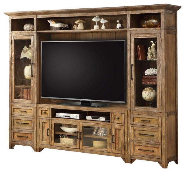 """Entertainment Center 63"""" Tv Stand Wall Unit Hunt's Pointparker Inside Most Recently Released Tv Stand Wall Units (Image 8 of 20)"""