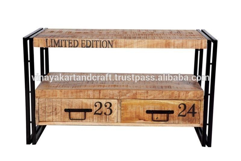 Entertainment Home Tv Stand,industrial Style Tv Stand – Buy Intended For Current Industrial Style Tv Stands (Image 10 of 20)