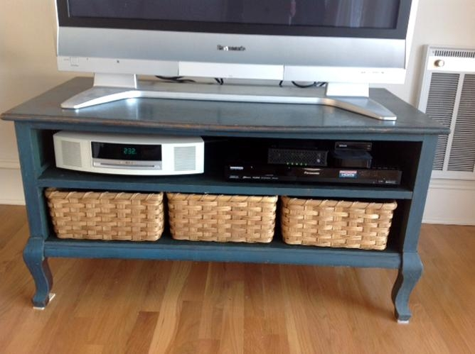 Entertainment Stand Custom Storage Baskets | Joanna's Collections With Most Recently Released Tv Stands With Baskets (Image 12 of 20)