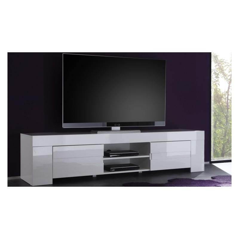 Eos – Large High Gloss Tv Unit – Tv Stands – Sena Home Furniture Regarding Most Up To Date White Gloss Tv Cabinets (Image 6 of 20)