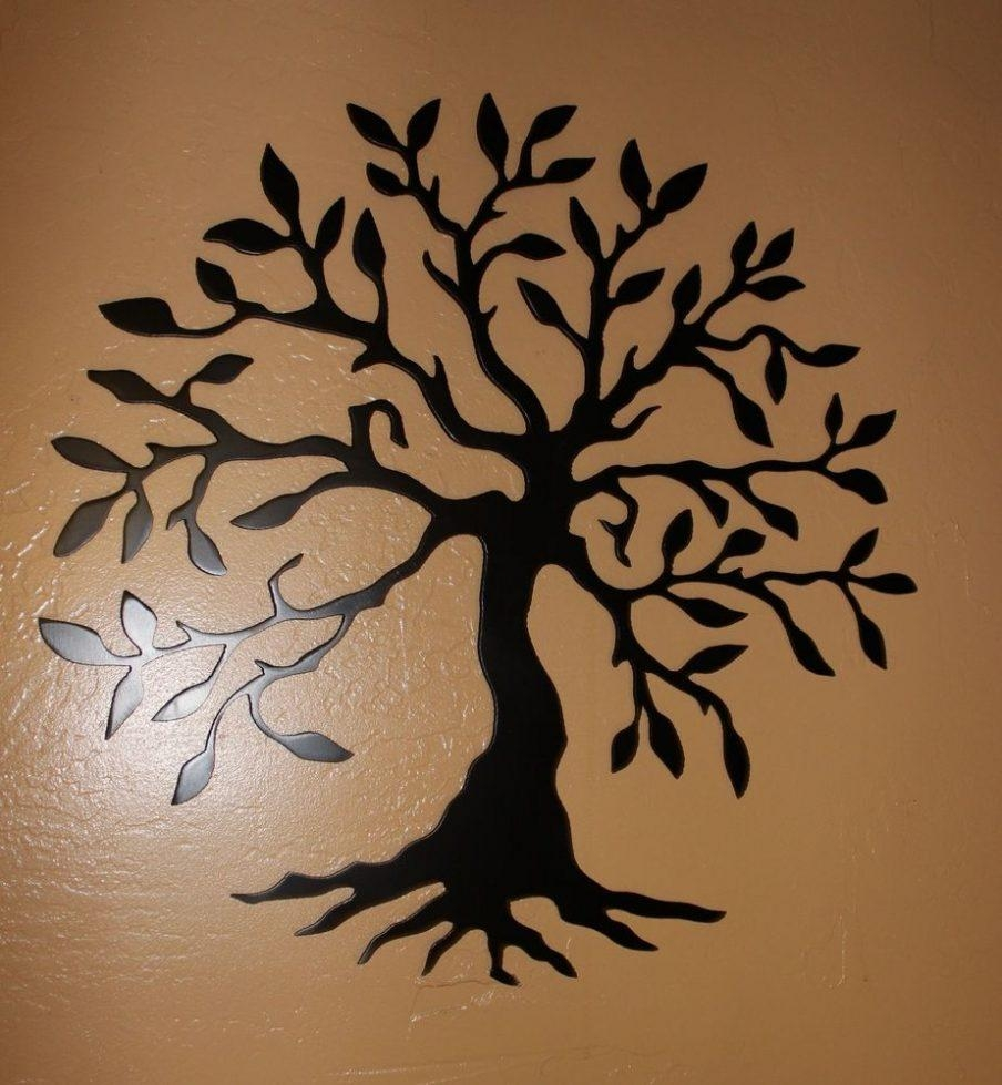 Ergonomic Family Tree Wall Art Stickers Image Of Black Metal For Tree Of Life Wall Art Stickers (View 14 of 20)