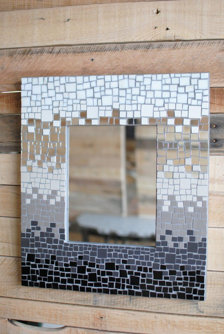Ergonomic Mirror Mosaic Wall Art Diy Custom Mirror Mosaic Mirror Inside Diy Mosaic Wall Art (Image 18 of 20)