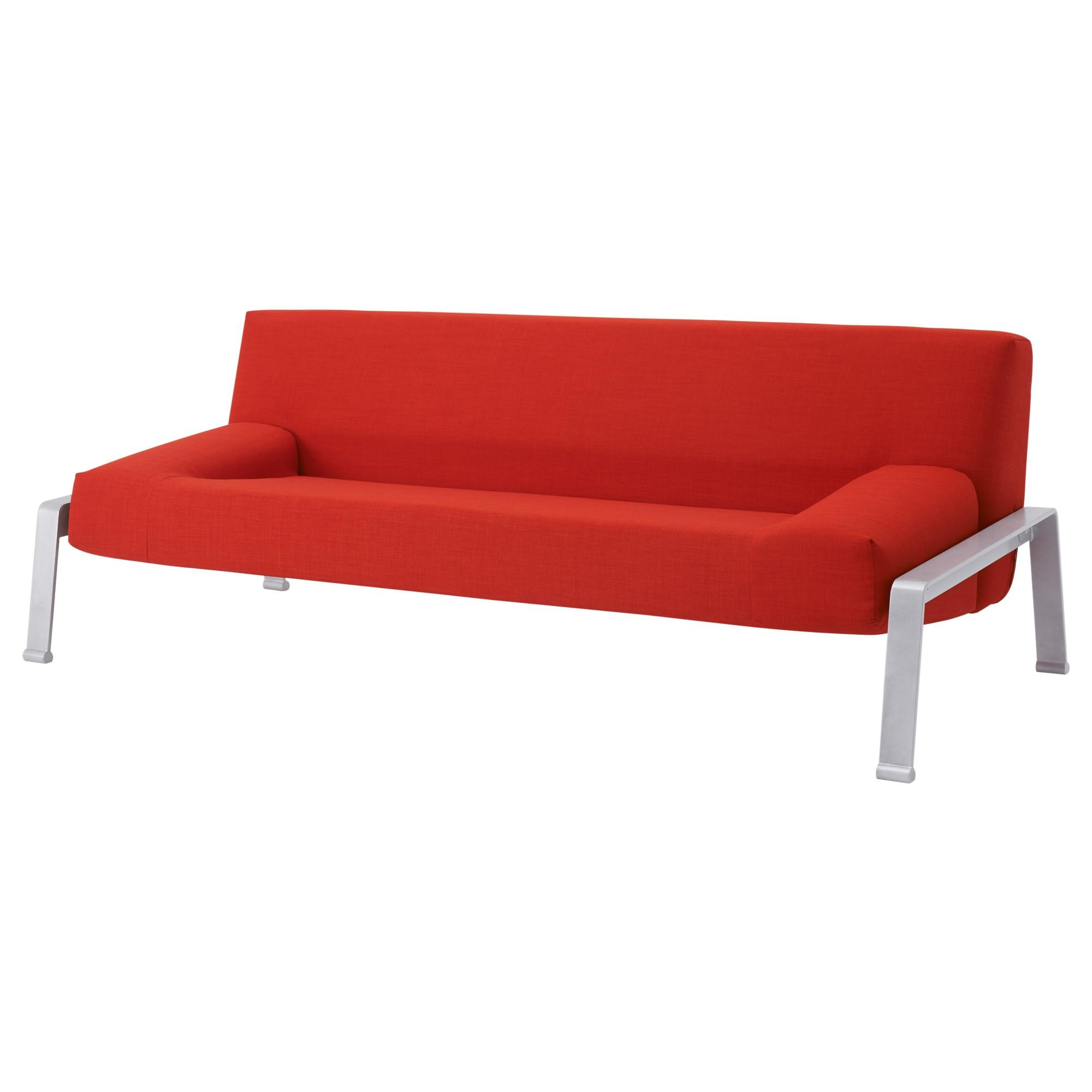Erska Sleeper Sofa – Skiftebo Orange – Ikea Intended For Orange Ikea Sofas (View 6 of 20)