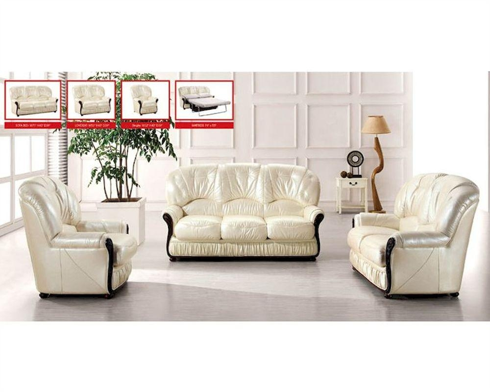 European Furniture Italian Leather Sofa Set 33Ss31 Inside European Leather Sofas (Image 4 of 21)