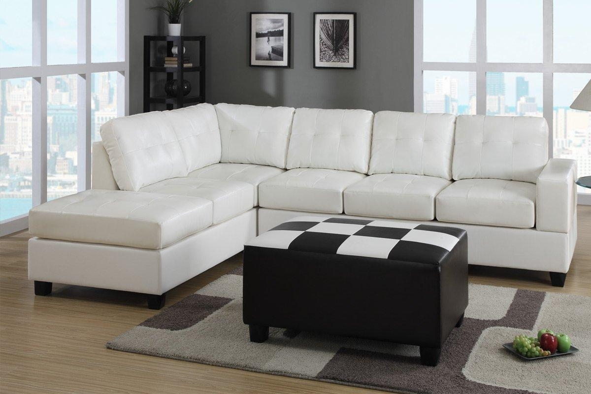 Excellent Designs Of Contemporary Leather Sectional Sleeper Sofa Throughout Black Leather Sectional Sleeper Sofas (Image 5 of 21)