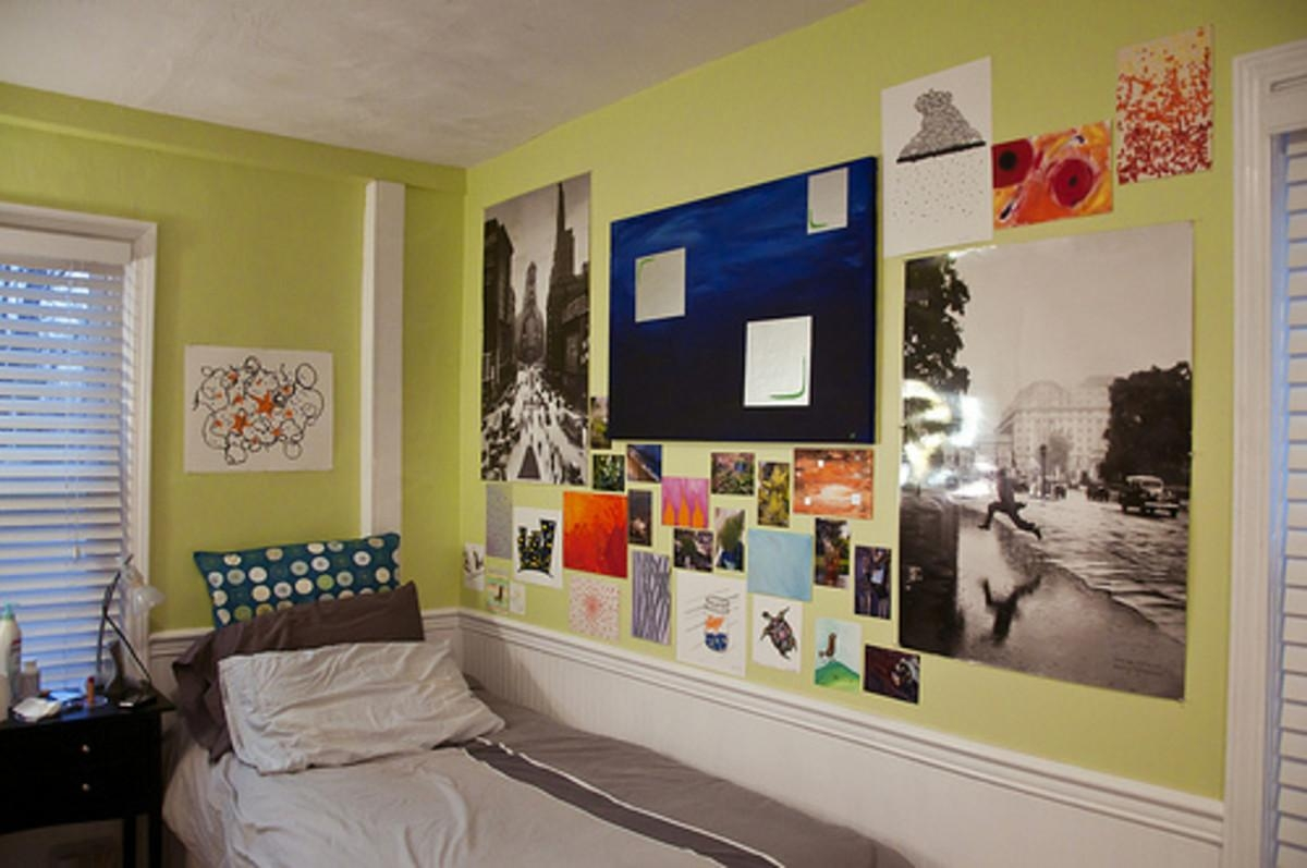 Excellent Ideas College Wall Decor Fascinating Dorm Room Decor With Wall Art For College Dorms (Image 17 of 20)