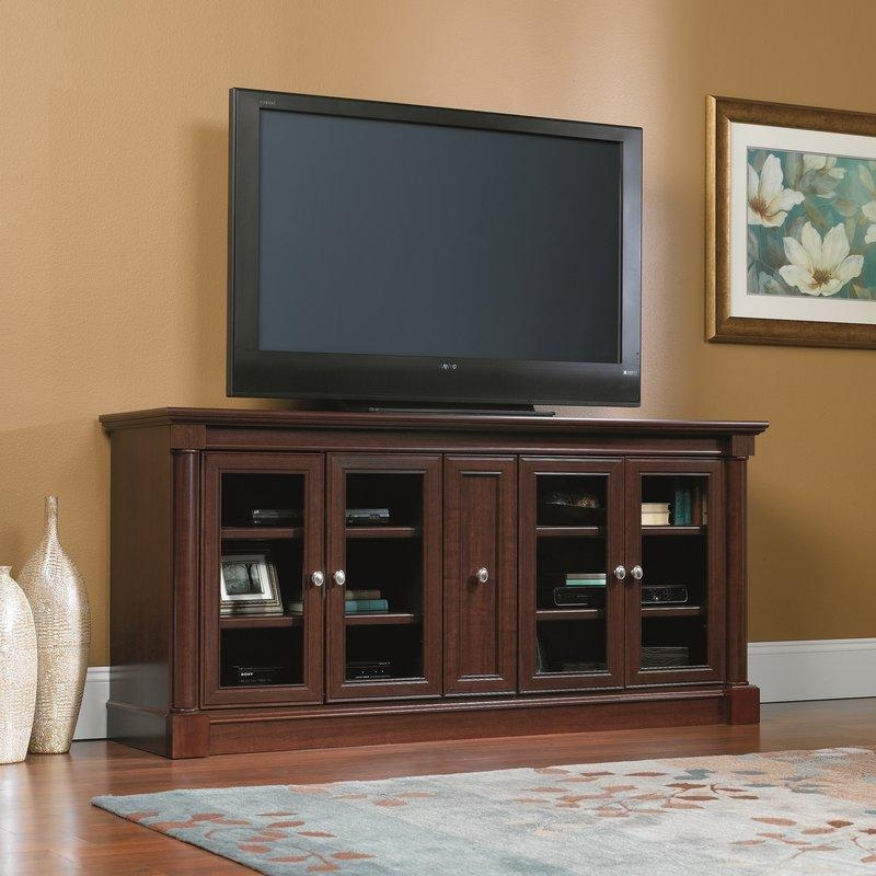 Extra Tall Tv Stands | Wayfair Intended For Best And Newest 65 Inch Tv Stands With Integrated Mount (View 15 of 20)