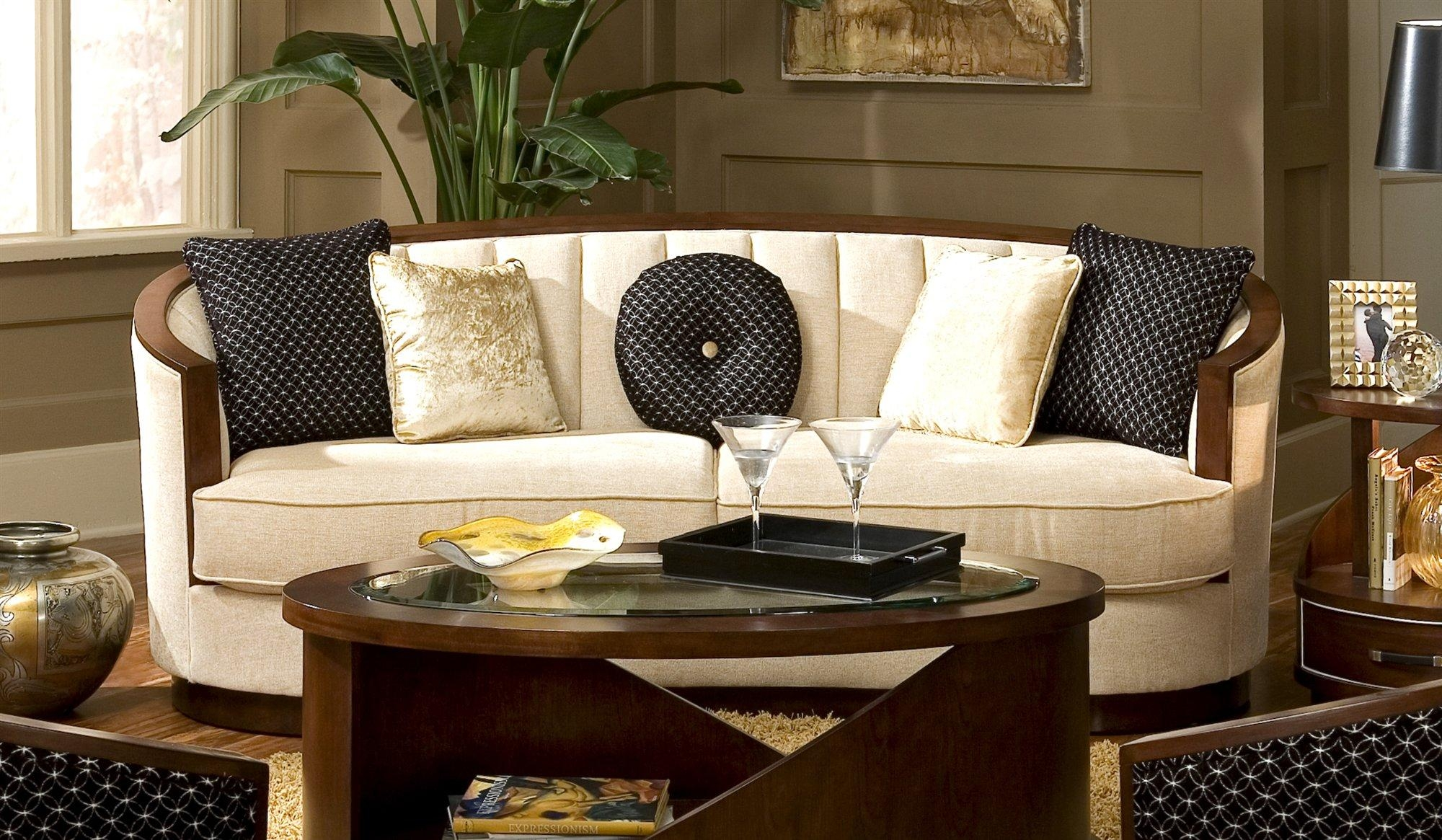 Fabulous Oval Sectional Sofas With Appealing Design – Ajara Decor Intended For Oval Sofas (View 6 of 21)