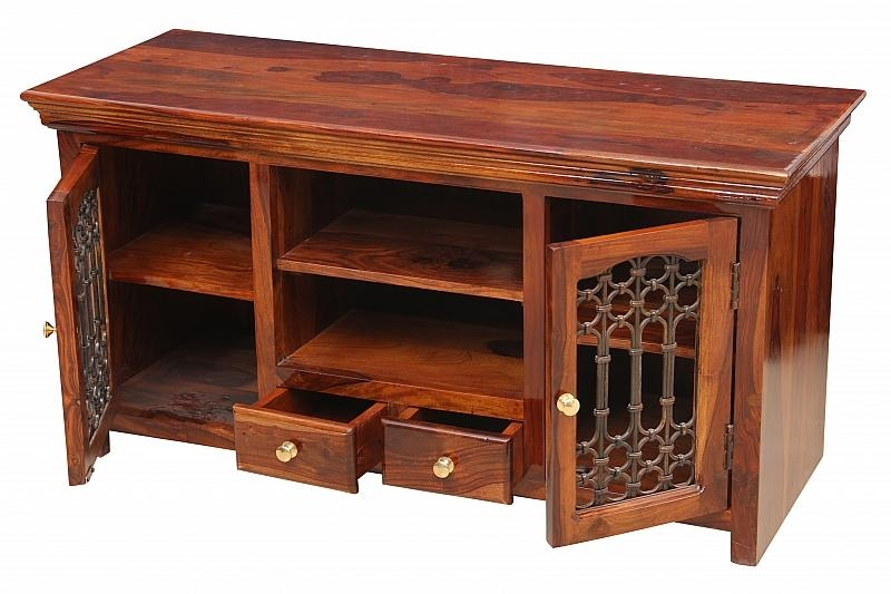 Fabulous Tv Media Cabinet Waca Waca Jali Tv Cabinet Media Console With Most Current Jali Tv Cabinets (Image 4 of 20)