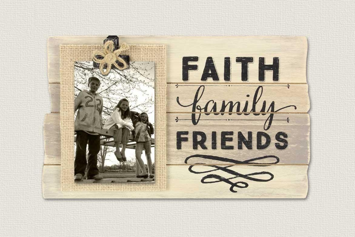 Faith Family Friends Wall Art Plaque Ideas | Home Interior & Exterior With Faith Family Friends Wall Art (Image 7 of 20)