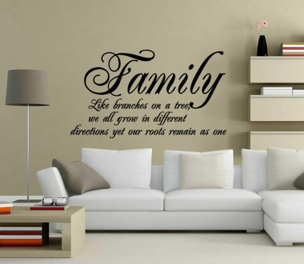 Family Sayings Wall Art Quotes Ideas | Home Interior & Exterior Regarding Family Sayings Wall Art (Image 7 of 20)