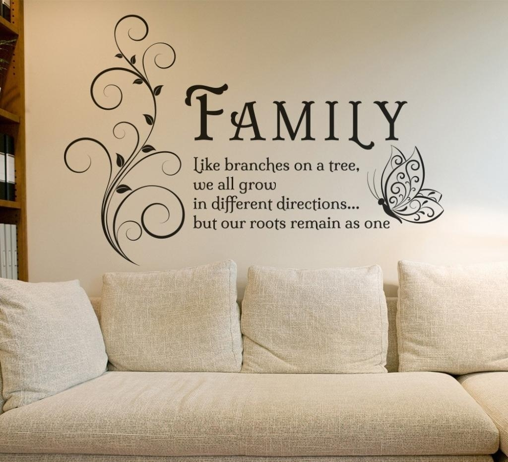 Fancy Family Sayings Wall Art 43 For With Family Sayings Wall Art Throughout Family Sayings Wall Art (View 2 of 20)
