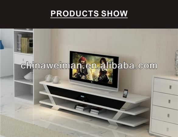 Fancy Long Tv Stand Furniture With Entertainment System Sm 1501 With 2018 Fancy Tv Stands (Image 9 of 20)