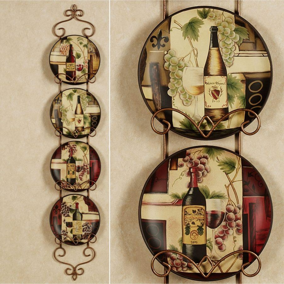 Fascinating Italian Wall Decor Plates The Flower Market Wall In Italian Plates Wall Art (Image 6 of 20)