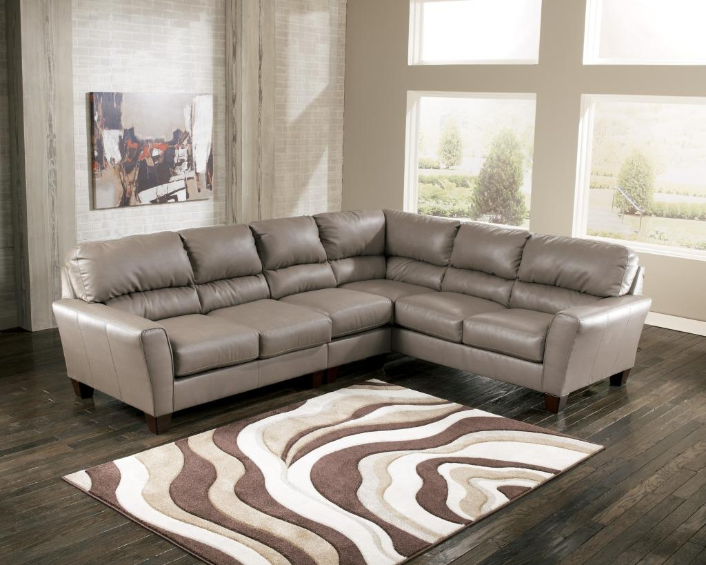 Fashionable Leather Sectional Sofas | Home Designjohn In Gray Leather Sectional Sofas (View 6 of 21)