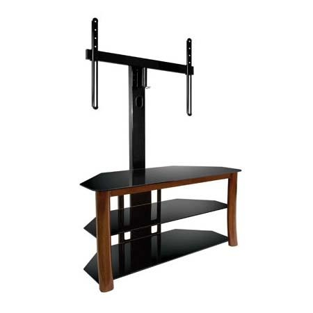 Features Of A Glass Tv Stand With Mount – Furniture Depot Intended For Recent Tv Stands Swivel Mount (Image 7 of 20)