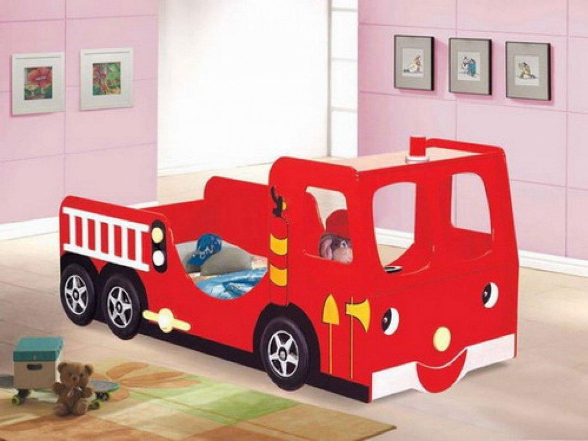 Fire Truck Night Light Lamp | Table Lamp And Chandelier Pertaining To Fire Truck Wall Art (Image 7 of 20)